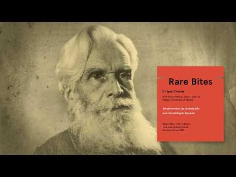 Rare Bites: Sexual inversion by Havelock Ellis and John Addington Symonds (1897)