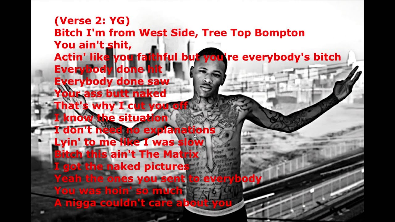 Yg Bompton Lyrics