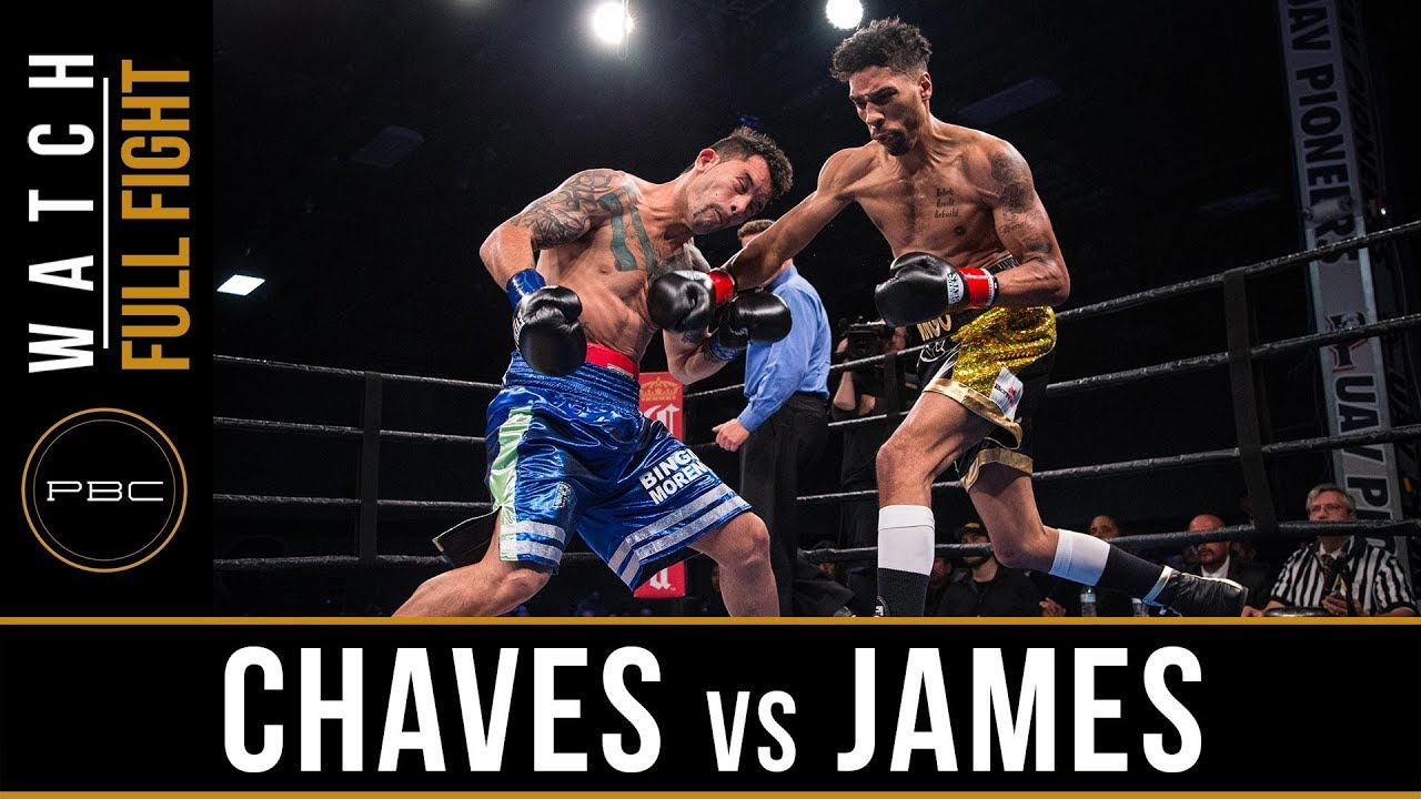 Chaves vs James FULL FIGHT: December 15, 2017 - PBC on FS1