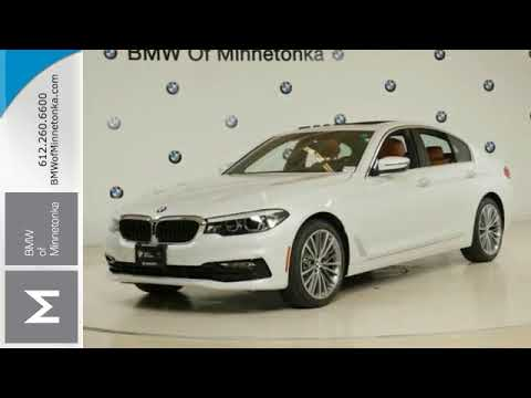 New 2018 BMW 5 Series Minnetonka MN Minneapolis MN B2702  YouTube