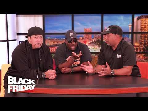 Black Friday Live Celebrity Edition w/Comedians Shang & Rodney Bigham