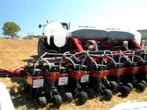 Case Ih No Till Planter Getting Ready Youtube