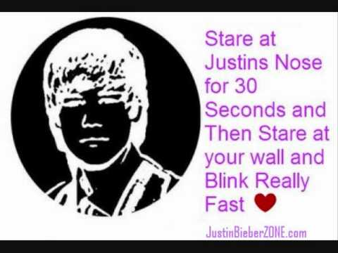 I saw justin bieber on my wall eye trick youtube - Things you find on walls ...