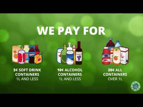 Want to Make Some Extra Cash? | Beverage Containers