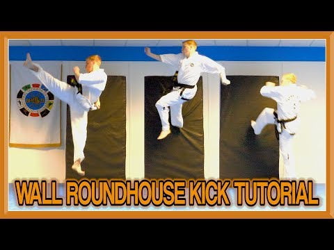 Wall Roundhouse Kick Tutorial (Showtime Kick) | GNT How to