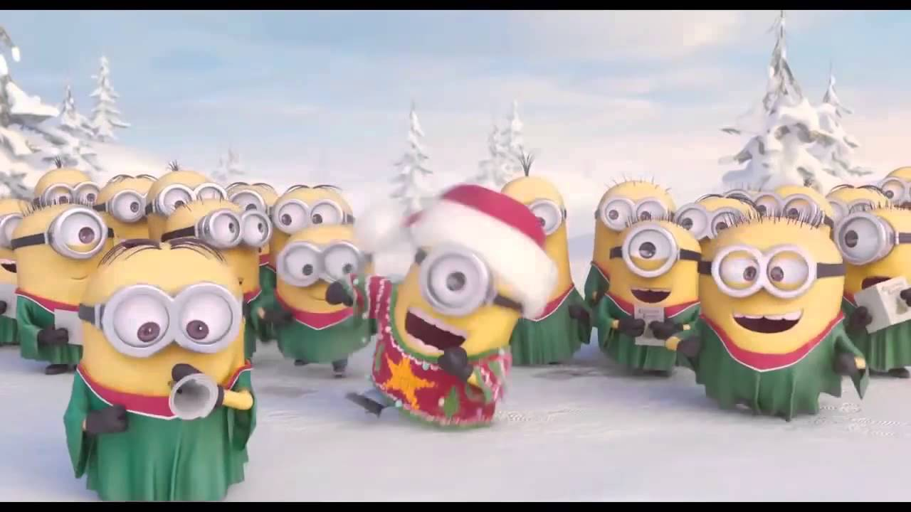 minions christmas song minions despicable me new - Minions Christmas Song