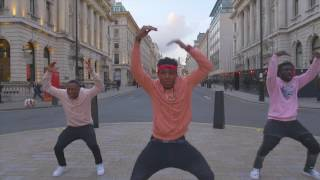 Davido - IF  (Official dance video) by Ghana boyz