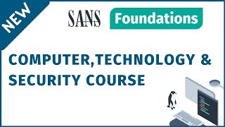 SANS Cyber Security Foundations Course
