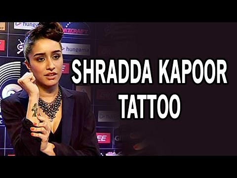 Shraddha Kapoor gets a tattoo for ABCD 2 movie with Varun Dhawan