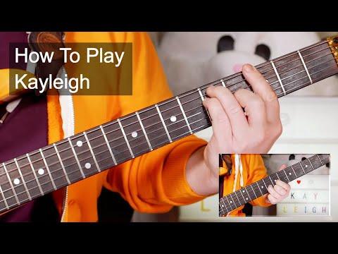 'Kayleigh' Marillion Guitar Lesson