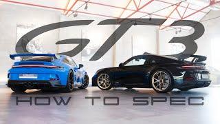 How to spec tнe new Porsche 992 GT3