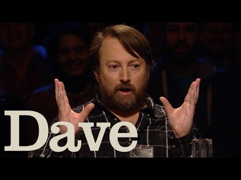 David Mitchell's Traumatic Experience With A Lobster  Alan Davies: As Yet Untitled  Dave