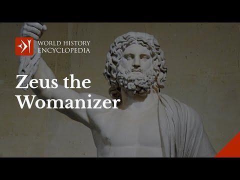 Zeus the Biggest Womanizer in Greek Mythology