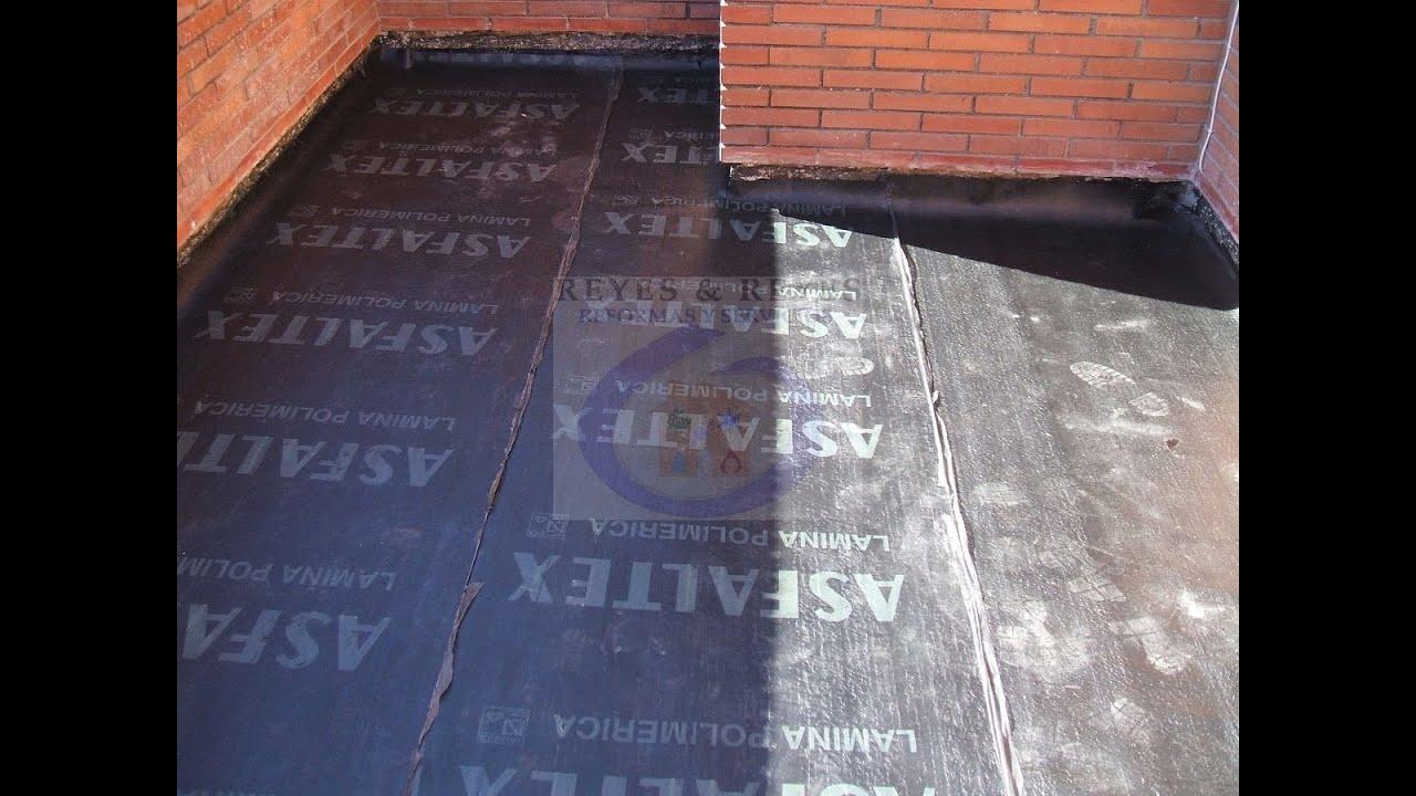 Reparaci n barata de terraza en barcelona reformasreyes - Baldosas para terraza ...