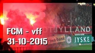 Stemning | FC Midtjylland - VFF, 31-10-2015