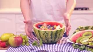 Фруктовый салат. Кухня
