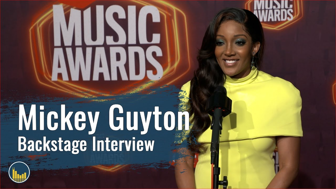 Mickey Guyton | Backstage at the 2021 CMT Music Awards