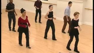 Salsa Basic Turn Step practised to music 21/22