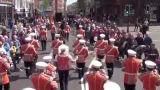 Cookstown SOW @ 36TH Ulster Division Review Centenary  Parade 2015