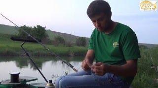Ловля фидером на реке Сал