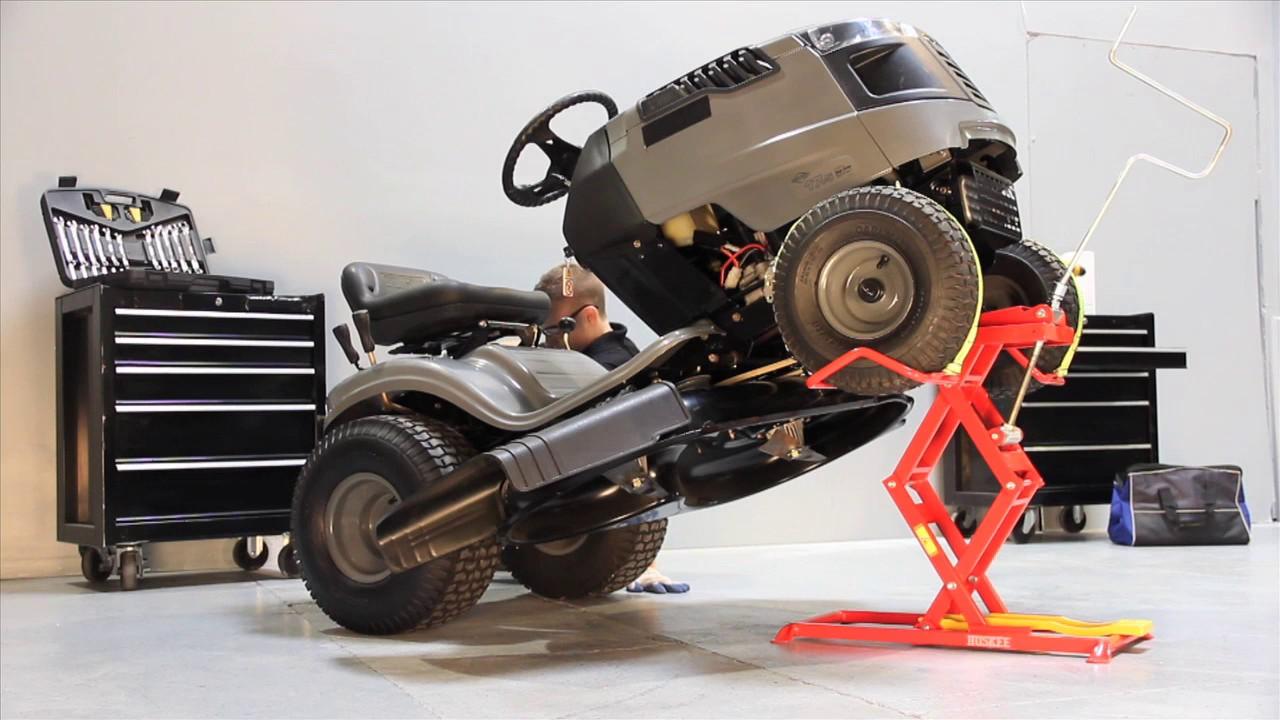 Huskee HZR350 Mower Lift