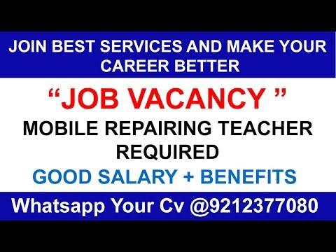 JOB JOB JOB MOBILE REPAIRING TEACHER BEST SERVICES WHATAPP