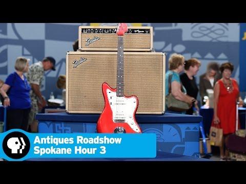 ANTIQUES ROADSHOW | 1964 Fender Jazzmaster with Bandmaster Amp | Spokane Hr 3 Preview | PBS