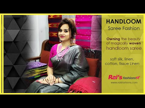 Owning The Beauty Of Magically Woven Handloom Sarees 14th July 13jrf Youtube