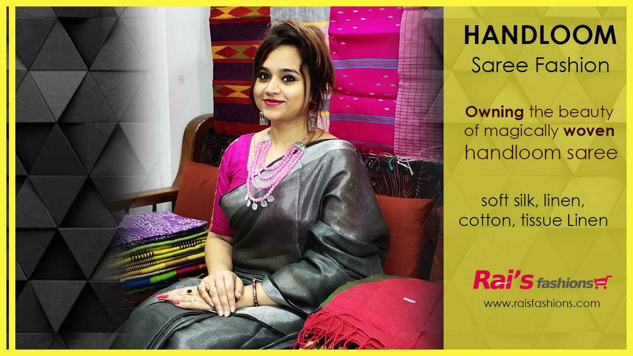 Owning The Beauty Of Magically Woven Handloom Sarees (14th July) - 13JRF