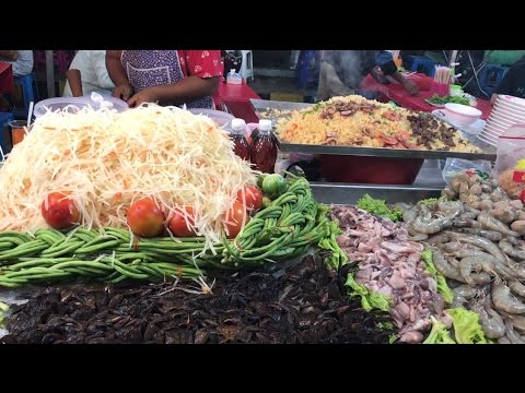 Thailand Street Food, Thai Food in Cambodia Expo, Asian Street Food #243