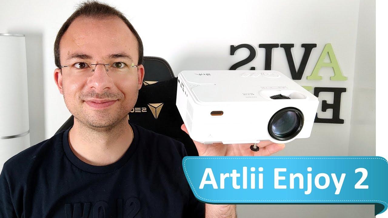 Download Artlii Enjoy 2 - Le TOP des Projecteurs LCD 720P