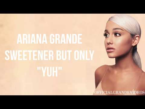 """Ariana Grande's """"Sweetener"""" But Only """"Yuh"""""""