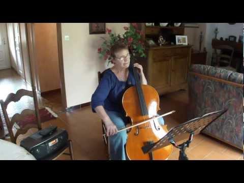 Sarabande Handel au violoncelle pour fr2