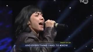 01 Radio Gaga (Queen Cover) by Second Born Band feat Riffy Putri at TVRI