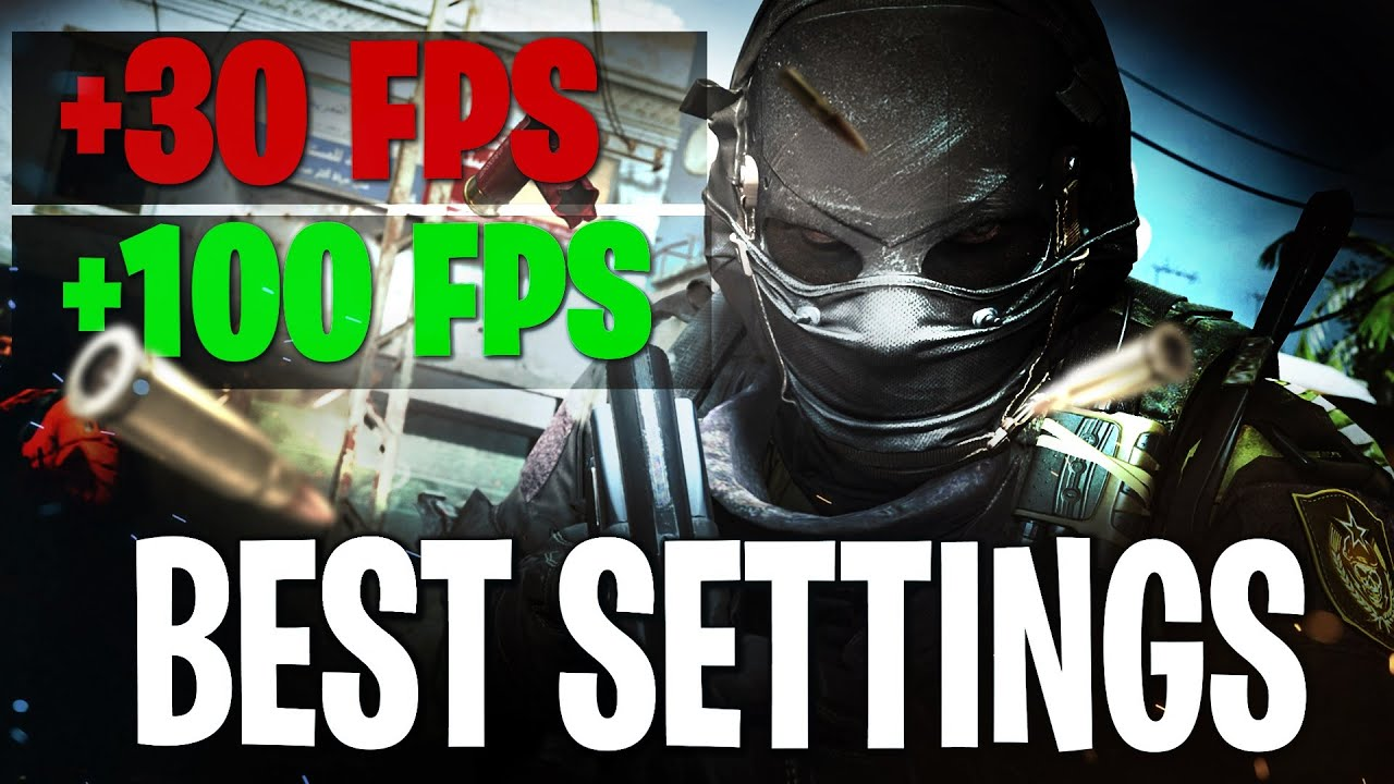 Warzone Best Settings That Will Actually Fix Lag Fix Low Fps And Freezing Pc Ps4 Xbox One Youtube