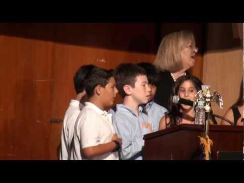 Hewlett Elementary School - Class of 2012 - 5th Grade Graduation - Pledge of Allegiance