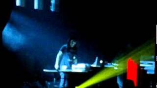 SKRILLEX live at congress theater in chicago, illinois October 22, 2010