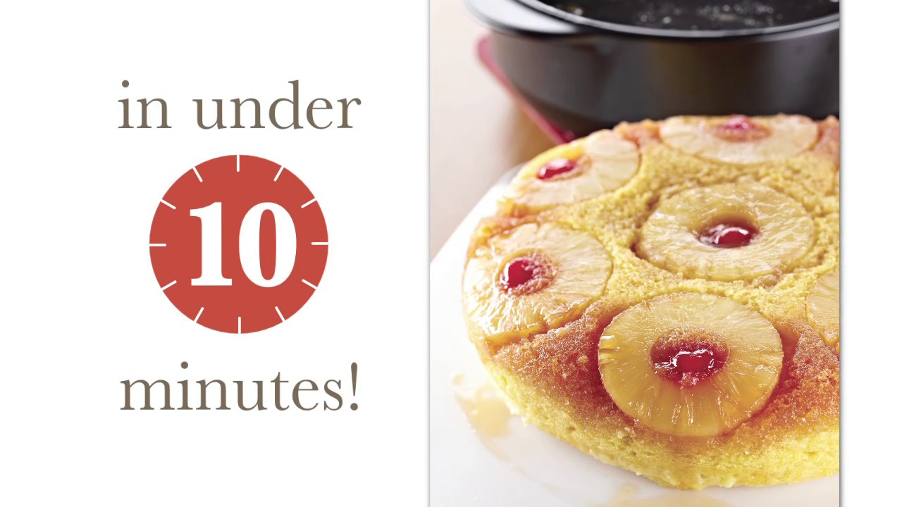 Pampered Chef Pineapple Upside Down Cake Recipe