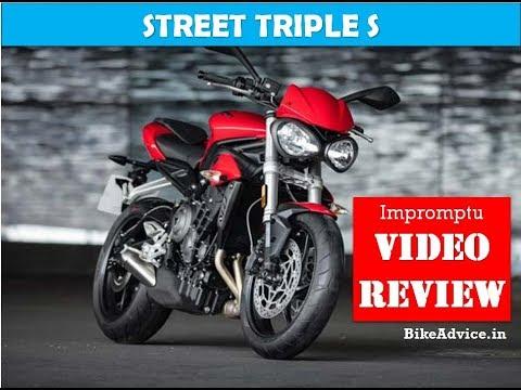 2018 Triumph Street Triple S Review Youtube
