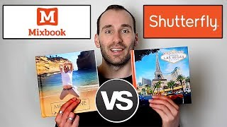 MIXBOOK vs SHUTTERFLY LAY FLAT PHOTO BOOK COMPARISON - REVIEW