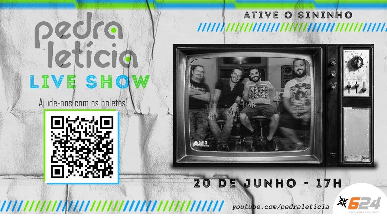 LIVE PEDRA LETICIA I Ao Vivo Nos Estudios 624 I #FiqueEmCasa e Cante #Comigo