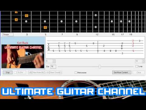 [Guitar Solo Tab] Get Back (Beatles)