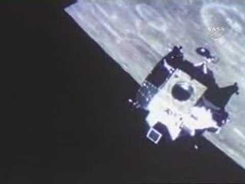 1969: Lunar Module docked with the Command Module - YouTube