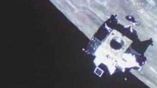 1969: Lunar Module docked with the Command Module