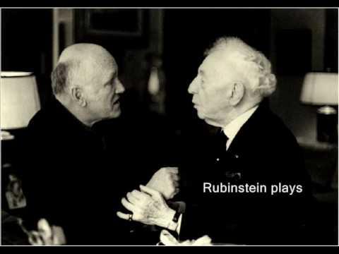 Richter & Rubinstein plays Chopin Prelude No.17