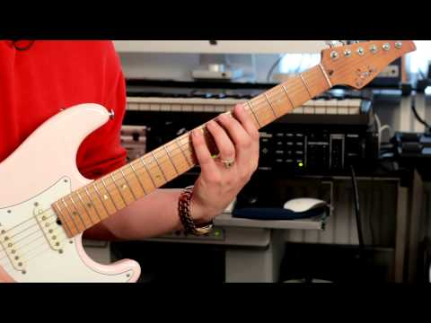 Rick's Guitar School - Scales & Arpeggios Class: Learning Scale Positions