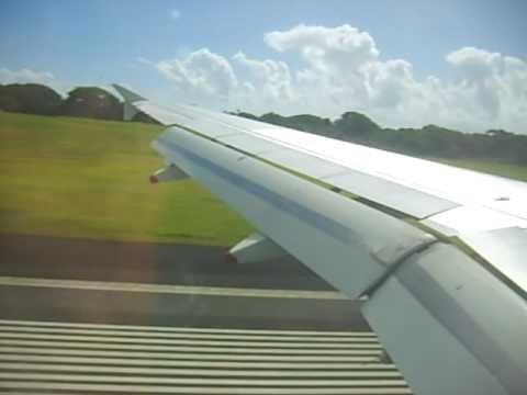 Landing in Samoa (Apia airport)