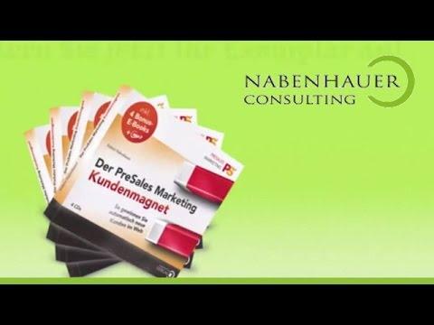 Der PreSales Marketing Kundenmagnet - Inhalt und Funktionsweise - Nabenhauer Consulting