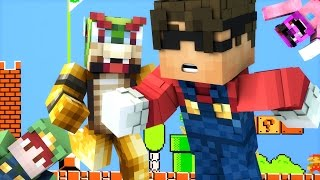THE ATTACK OF BOWSER! | Minecraft Hide N Seek