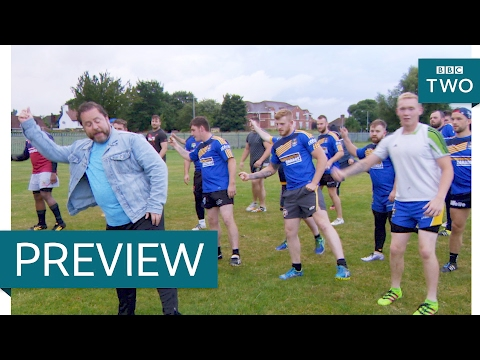 Steve teaches the local rugby team how to dance – Our Dancing Town: Episode 4 Preview – BBC Two